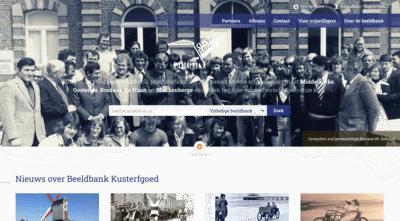 Case Kusterfgoed website