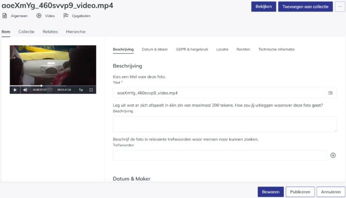 videobeschrijven